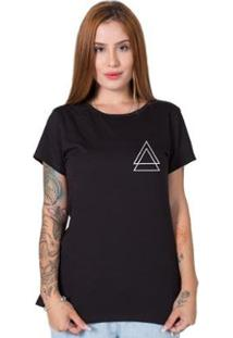 Camiseta Stoned Triple Triangle Feminina - Feminino