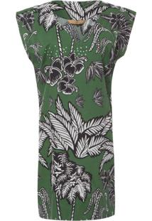 Vestido Bandana Água De Coco - Verde
