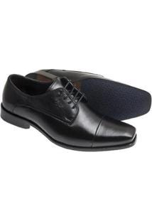 Sapato Social Sândalo Premium Masculino - Masculino-Preto