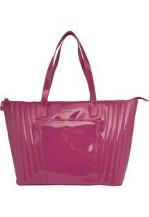 Bolsa Shopping Bag Dumond Grande Soft Rosa