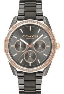 Relógio Coach Feminino Aço Cinza - 14503214 By Vivara - Tricae