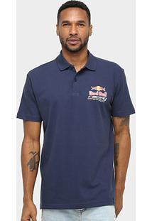 Camisa Polo Red Bull Racing Stock Car Dynamic Masculina - Masculino