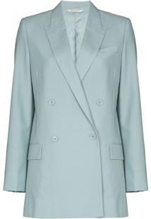 Givenchy Blazer Oversized Com Abotoamento Duplo - Azul