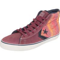 0ca4ba36fc Tênis Converse All Star Pro Leather Vulc Hi Vinho