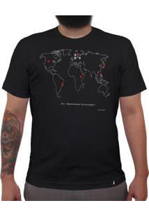 Spoiler - La Casa De Papel - Camiseta Clássica Masculina