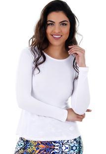 Camiseta Feminina Aiyra - Branco