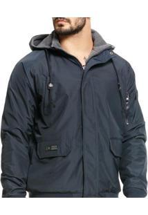 Jaqueta Vlcs Dupla Face Proteção Térmica Masculina - Masculino-Marinho