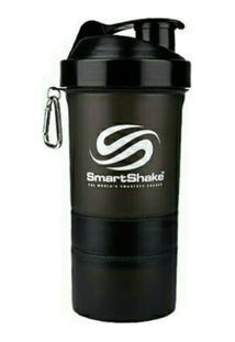 Coqueteleira Smart Shaker Preta - Unissex