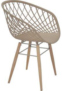 Cadeira Sidera- Bege Escuro & Bege- 82X63X55,5Cmtramontina