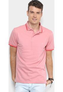 4af6909f2e ... Camisa Polo Forum Piquet Masculina - Masculino-Rosa