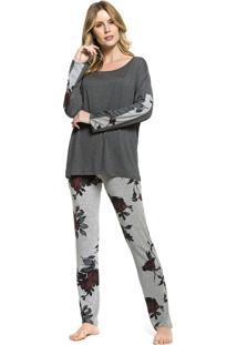 Pijama Inspirate De Inverno Garden Roses