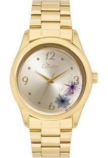 Relógio Condor Feminino Fashion Shake - Co2035Kvx/4D Co2035Kvx/4D - Feminino-Dourado