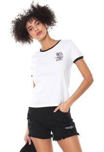 Camiseta Volcom Go Faster Branca - Kanui