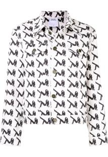 Calvin Klein Jeans Jaqueta 'Icon' - Branco