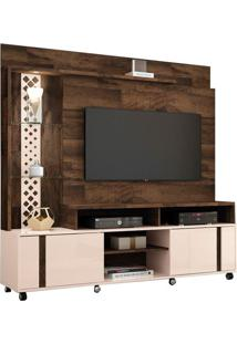 "Estante Home Para Tvs Até 55"" Vitral Deck / Off White"