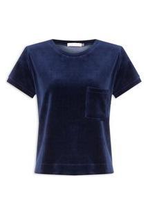 Blusa Feminina Plush - Azul