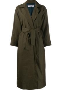 Katharine Hamnett London Lola Technical Coat - Verde