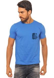 Camiseta Joss -Surf Flor Folha - Masculina - Masculino