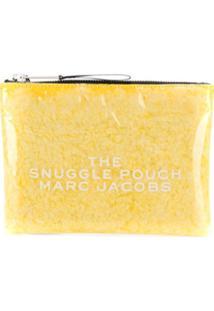 Marc Jacobs Clutch Snuggle Pouch - Amarelo