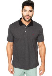 Camisa Polo Quiksilver Denver Cinza