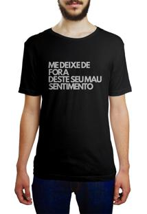 Camiseta Hunter Mau Sentimento Preta