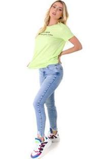 Camiseta Opera Rock T-Shirt Feminina - Feminino-Verde