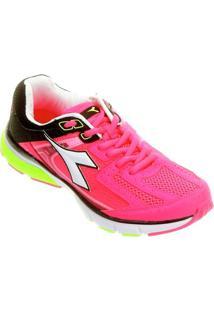 Tênis Diadora Walker Feminino - Feminino-Pink+Preto