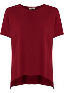Egrey Blusa De Tricô - Vermelho