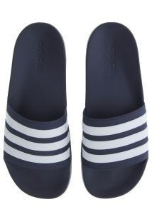 Chinelo Adidas Neo Cf Adilette - Slide - Masculino - Azul Escuro