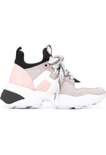 Hogan Interaction Low-Top Trainers - Branco