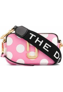 Marc Jacobs Bolsa Transversal 'The Dot Snapshot' - Rosa