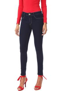 Calça Jeans Lança Perfume Skinny Vênus Azul-Marinho