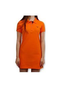 Vestido Polo Stouro - Laranja