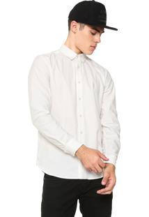 Camisa Volcom Reta Lisa Branca