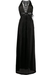 La Perla Vestido Acinturado - Preto