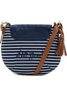 Bolsa Desigual Tassel Azul-Marinho