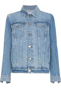 Frame Jaqueta Jeans Oversized - Azul