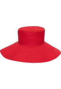 Chapéu Feminino Leblon - Vermelho