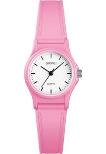 Relógio Skmei Analógico 1401 Rosa