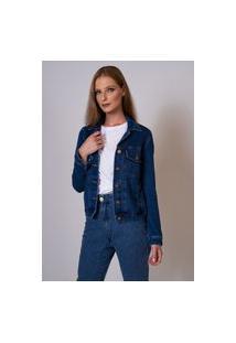 Jaqueta Jeans Aero Tradicional Azul