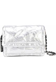 Marc Jacobs Bolsa The Pillow - Prateado