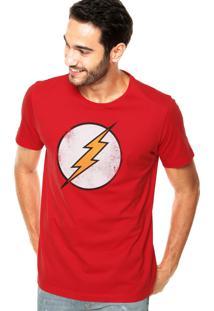 Camiseta Fashion Comics Flash Vermelha