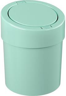 Lixeira Automática- Verde Claro- 39,5X20X20Cm- 5Coza