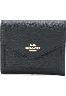 Coach Carteira Envelope - Preto