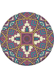 Tapete Love Decor Redondo Wevans Mandala 84Cm