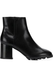 Hogl Block Heel Ankle Boots - Preto