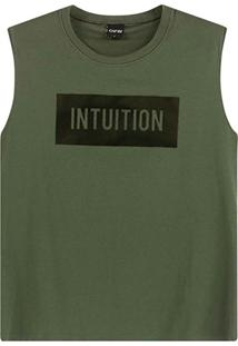 Blusa Verde Intuition Muscle