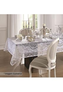 Toalha De Mesa Dinner- Branca- 300X155Cm- Lepperlepper