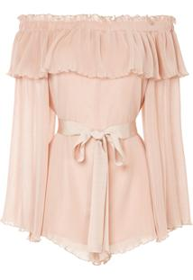 Alice Mccall Grand Amour Playsuit - Nude & Neutrals