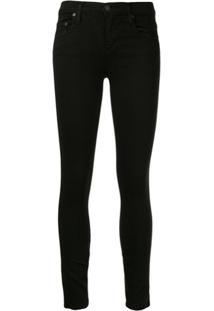 Nobody Denim Calça Jeans Skinny Geo - Preto